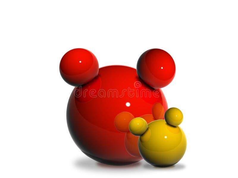 3D Balls vector illustration