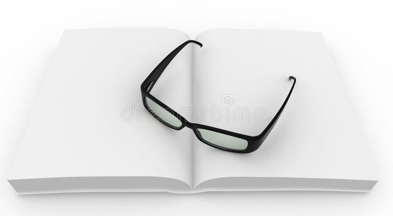 Download 3d Blank Book With Grasses Royalty Free Stock Image - Image: 18397806