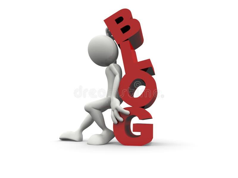 Download 3D Blog stock illustration. Illustration of blog, different - 11398993