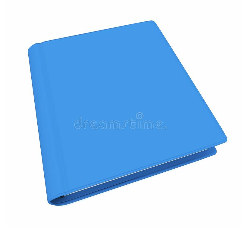 Download 3d  Blue Book With Blank Cover Stock Illustration - Image: 18726055