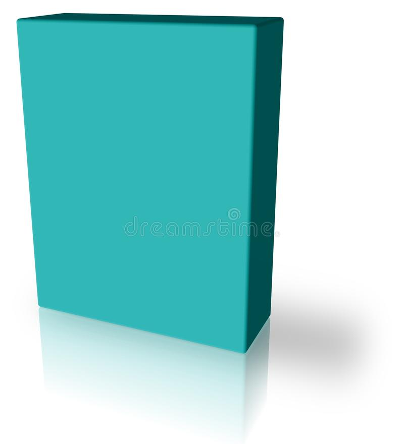 Free 3D Blue Box Royalty Free Stock Image - 9967876