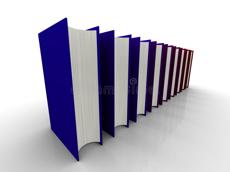 Download 3D book stock illustration. Image of book, conceptual - 10468198