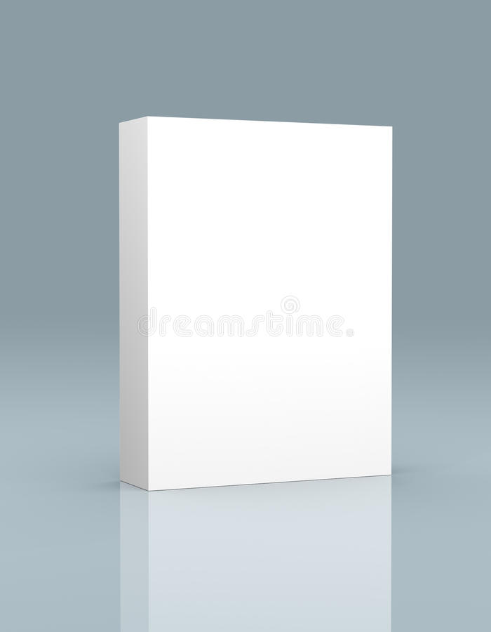 3D box software royalty free stock image