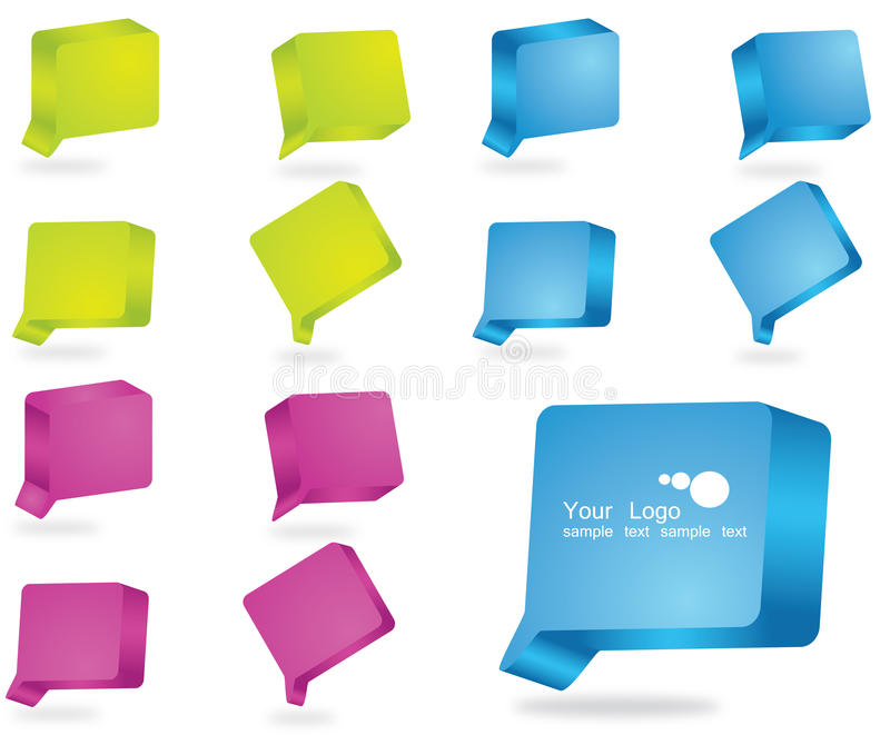 Download 3D bubble stock illustration. Image of icon, business - 19837632