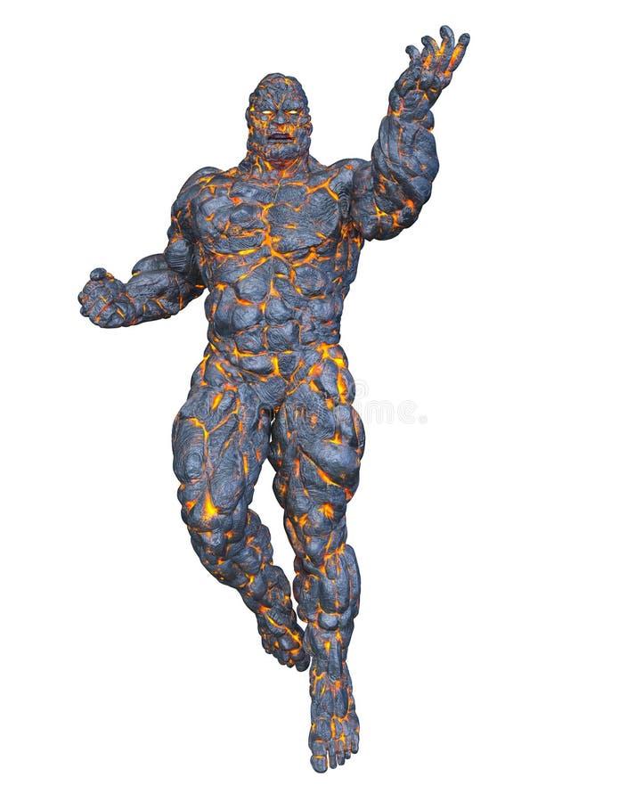 Free 3D CG Rendering Of Stone Man Stock Photos - 128294093
