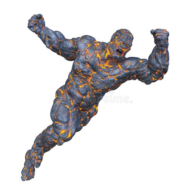 Free 3D CG Rendering Of Stone Man Stock Photo - 128294100