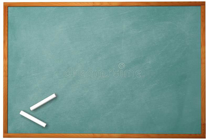 3D Chalkboard royalty free stock images