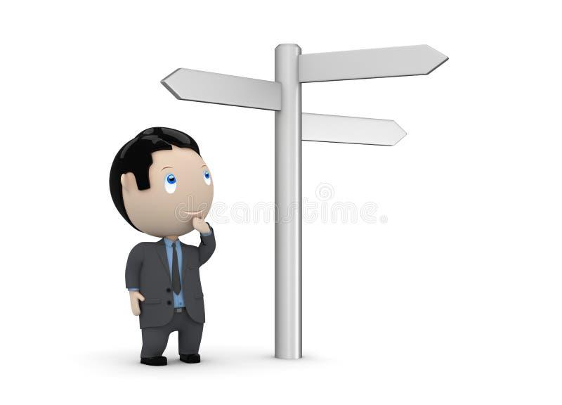 3d charakteru wybór robi socjalny twój ilustracja wektor