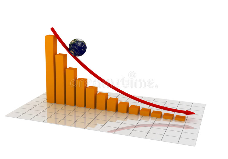 3d Chart vector illustration