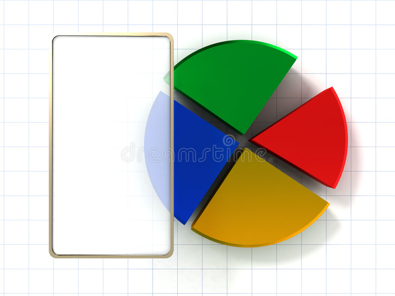Download 3d charts stock illustration. Image of graphics, bars - 2995033