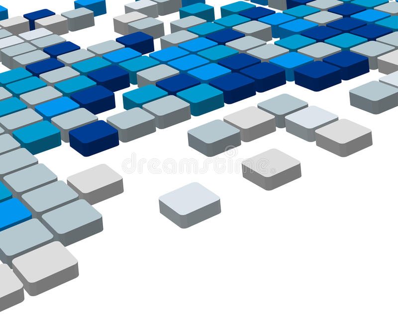 3d checked background vector illustration