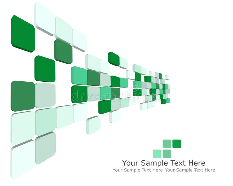 3d checked background royalty free illustration