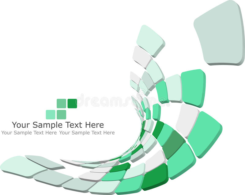 3d checked background stock illustration