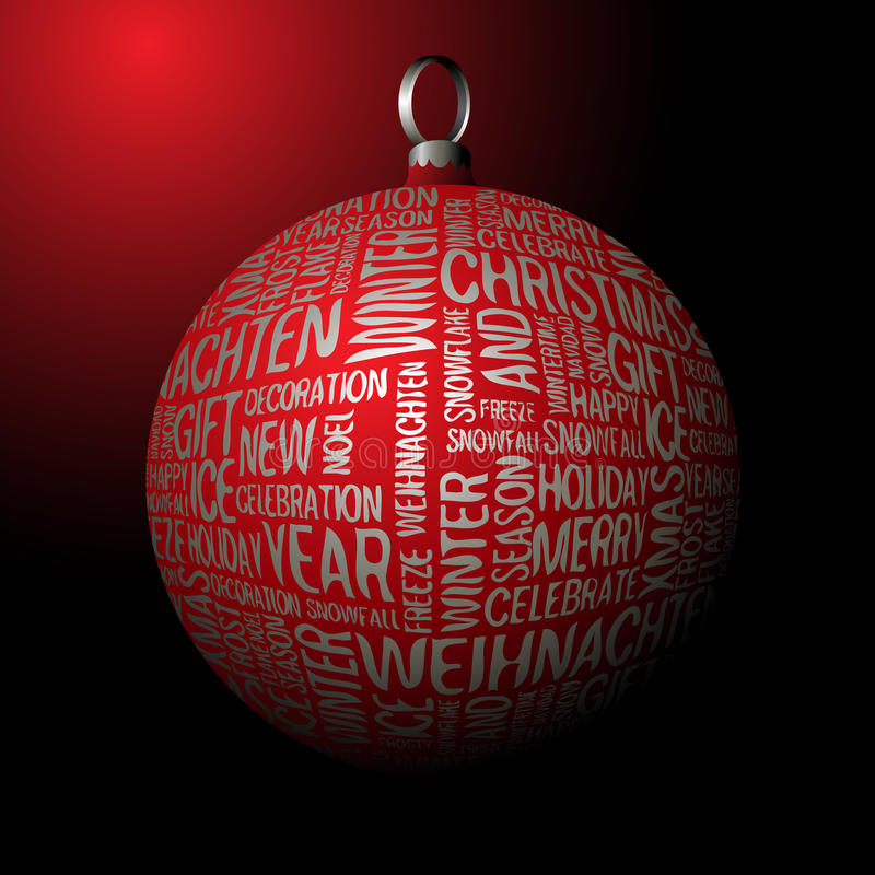 Free 3D Christmas Decoration Royalty Free Stock Photography - 11276717
