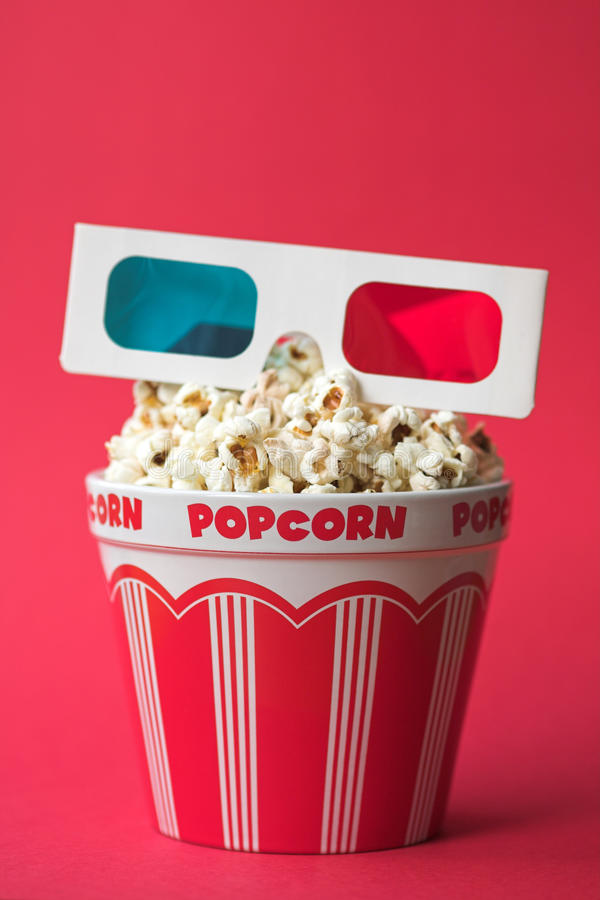 3D cinema royalty free stock photo