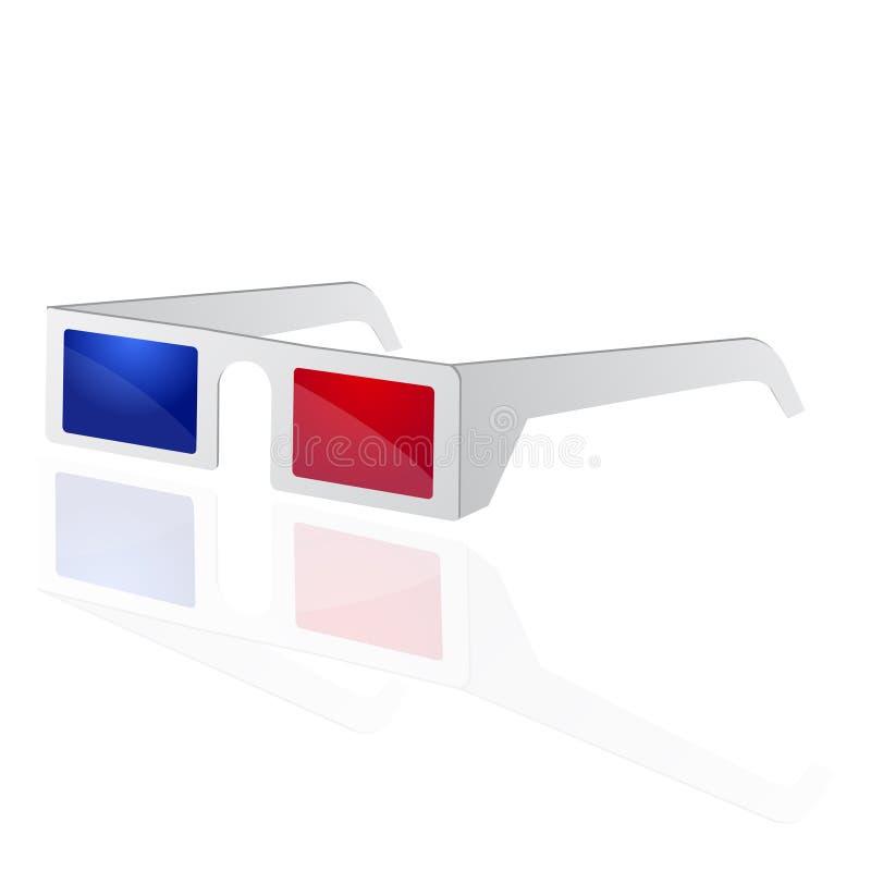 Download 3d cinema glasses stock vector. Illustration of cool - 13329331