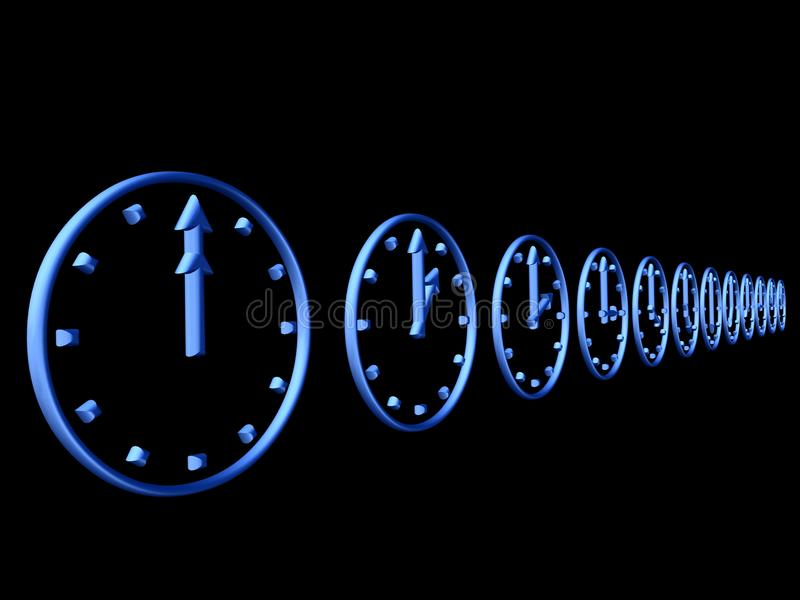 Download 3D clocks stock illustration. Illustration of information - 11356669