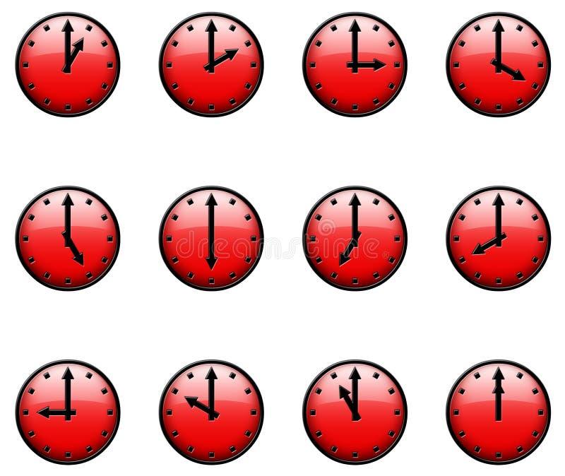 3D Clocks stock photos