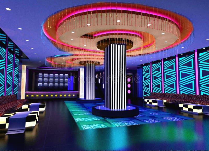 Download 3D Club Hall, Corridor Stock Photos - Image: 14671523