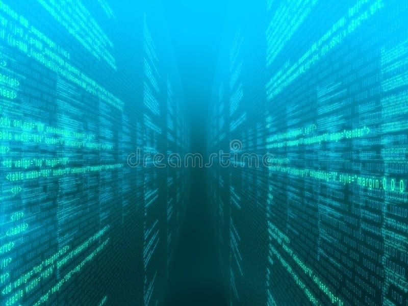 3d Code vector illustratie