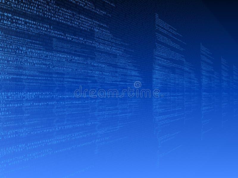 3d code stock illustratie