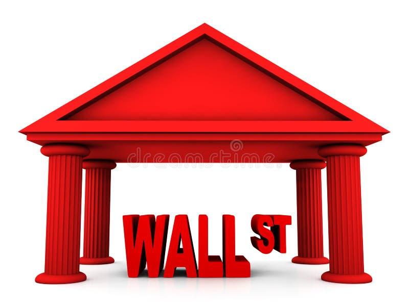 3d concept of Wall Street