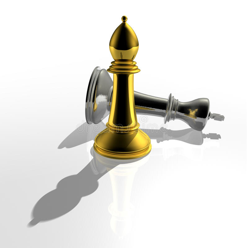 Download 3d create chess art stock illustration. Illustration of isolated - 18705707