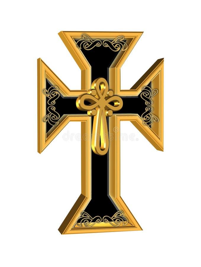 3d cross иллюстрация штока