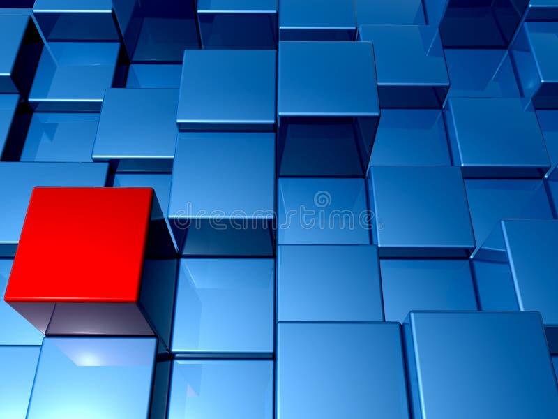 Download 3d cuba o fundo ilustração stock. Ilustração de gráfico - 16856005