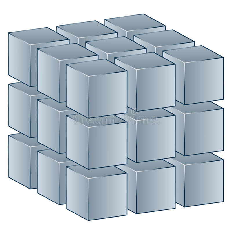 Download 3d Cube Stock Photography - Image: 24647632