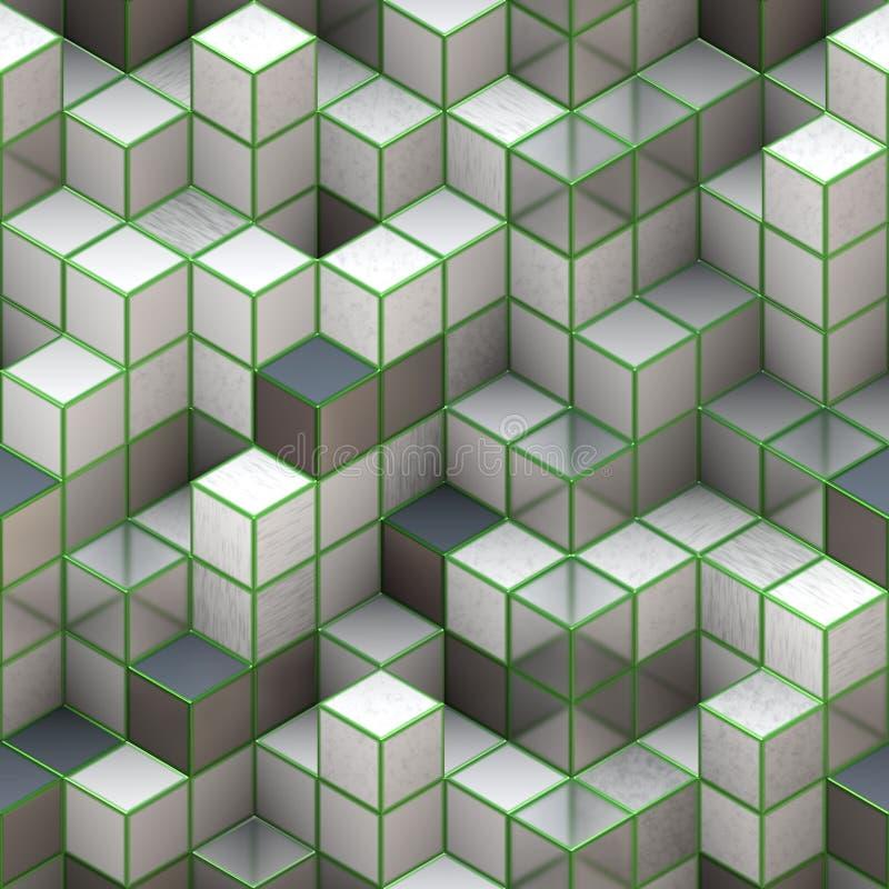 Download 3d cubes stock illustration. Illustration of element - 24407583