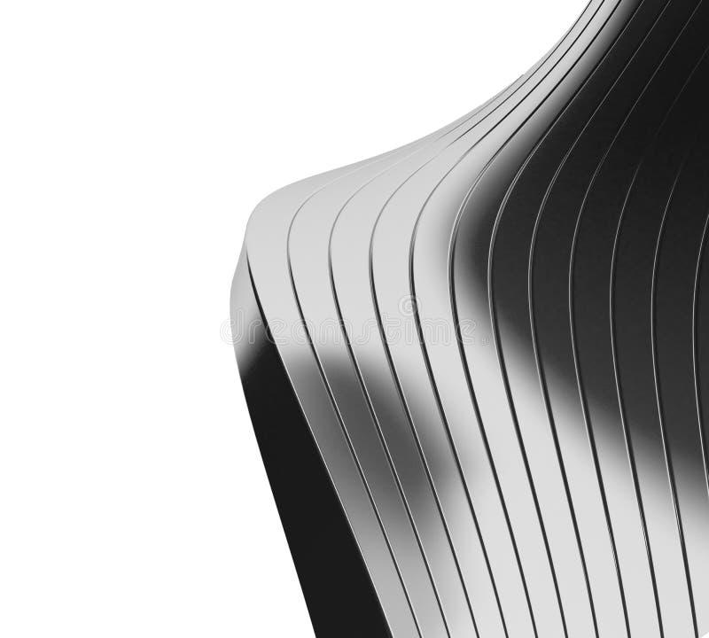 3D cubica el fondo ilustración del vector