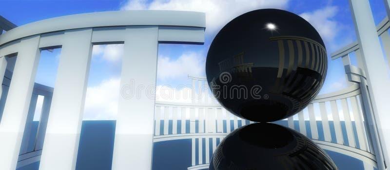 3d culto architettura di culto religioso con la sfera for Programmi 3d architettura