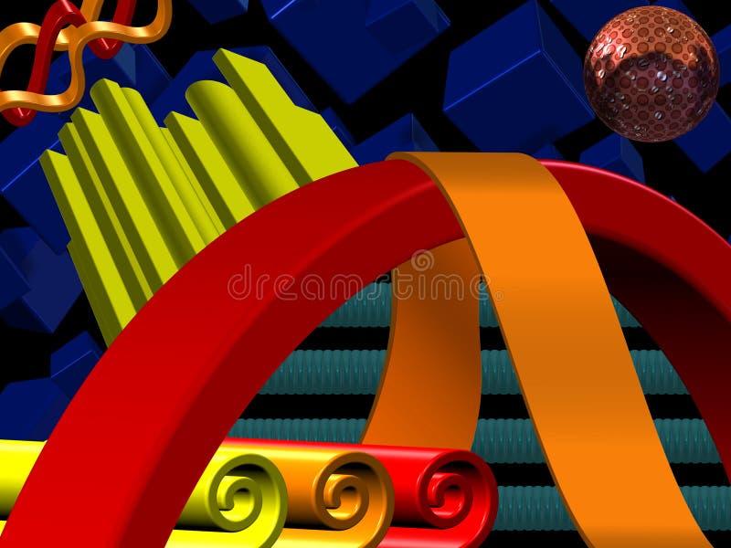 3D Design Stock Image