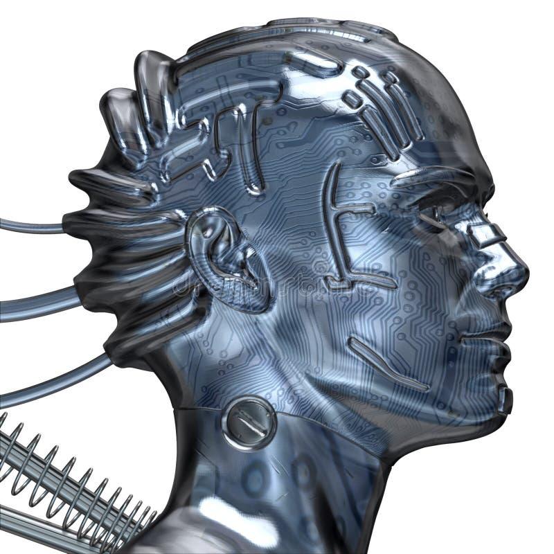 3D Digital Mann lizenzfreie abbildung