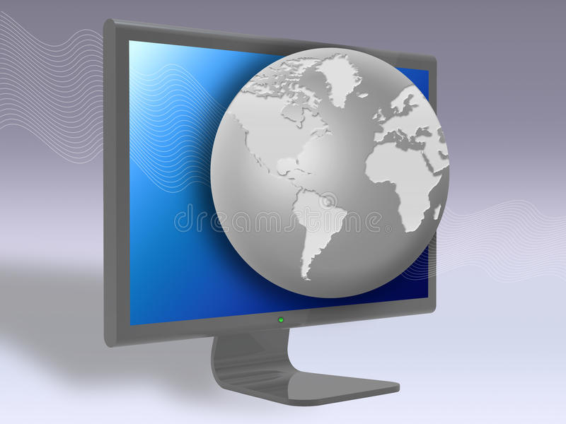 3D digital television stock images