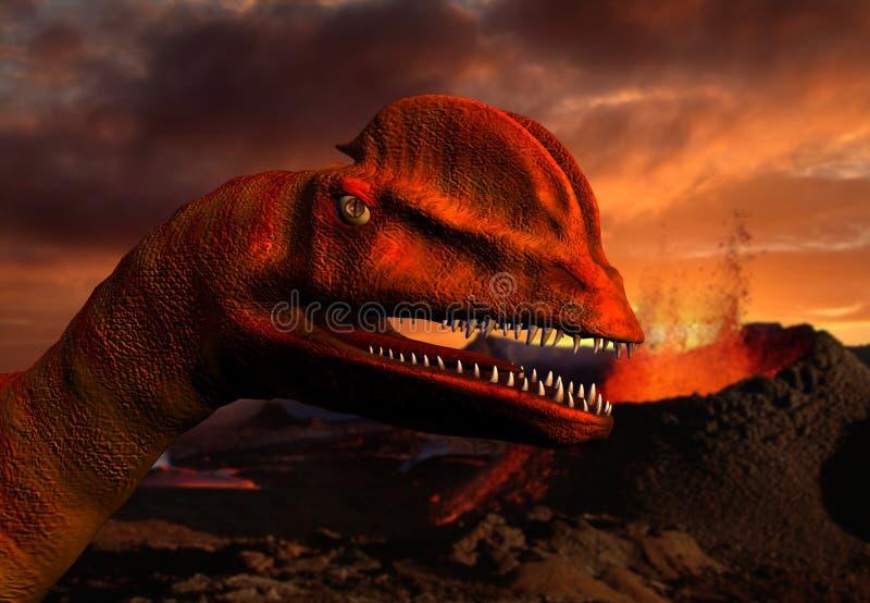 3D dinosaurus