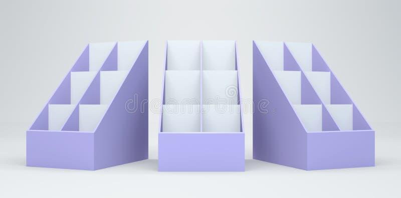 Download 3D display card stock illustration. Illustration of office - 23244087