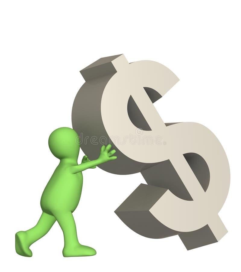 Download 3d Dolarowy Spada Kukiełkowy Podporowy Symbol Ilustracji - Obraz: 6554037