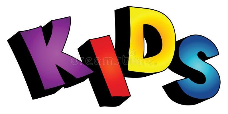 3d dzieciaka odosobniony tekst ilustracji