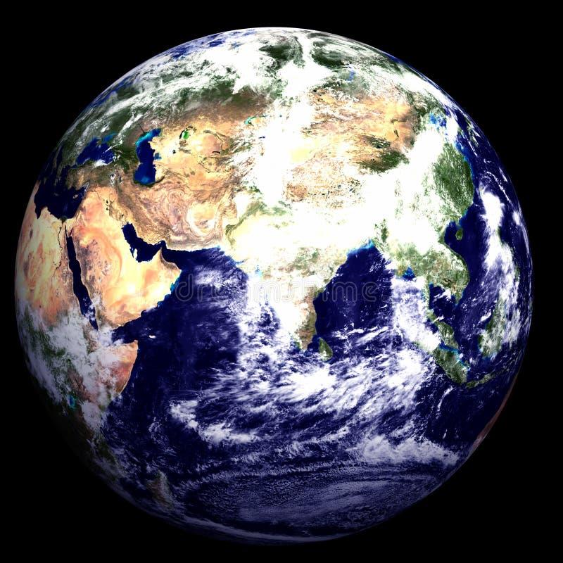3D Earth royalty free stock photos