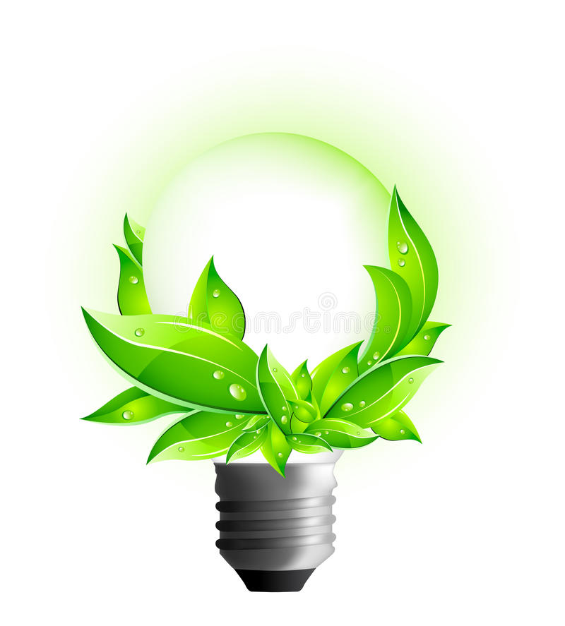Download 3D Eco Concept - Environmental Light Bulb Stock Vector - Illustration of innovation, background: 11246712