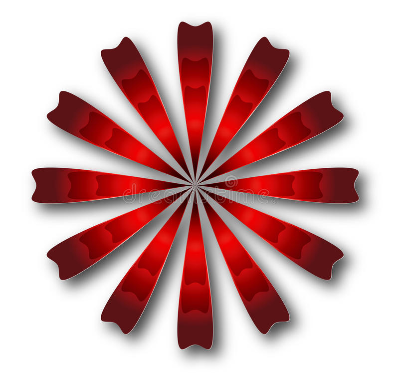 3d embleem vector illustratie