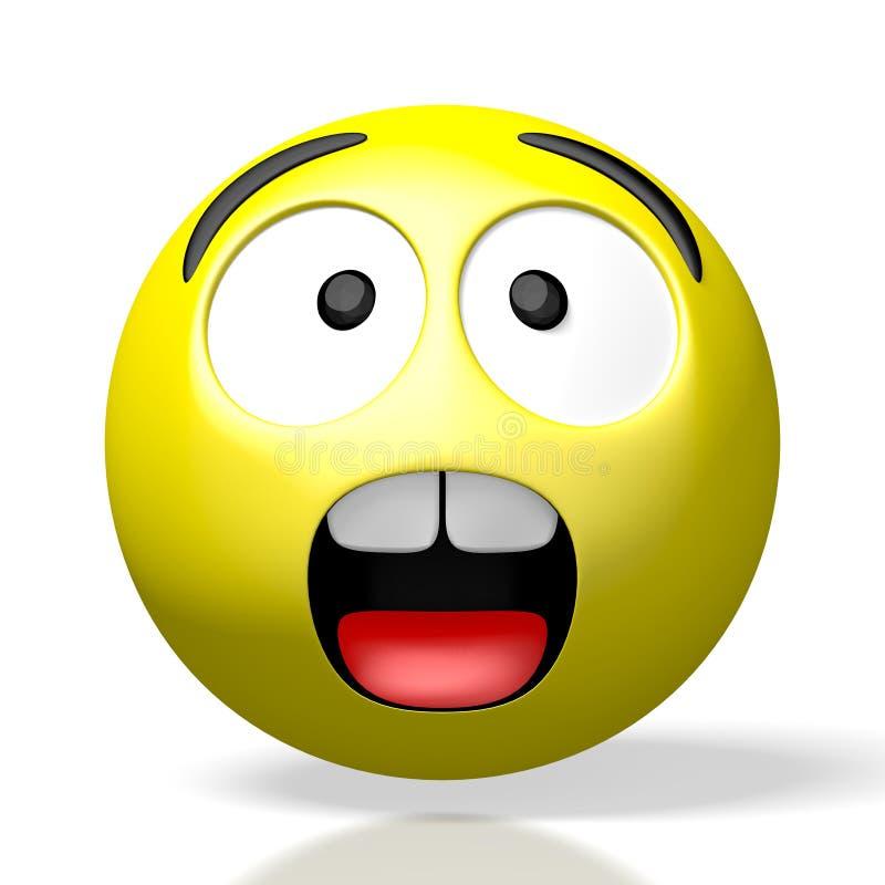 Free 3D Emoji/ Emoticon - Sad/ Scared/ Shock Royalty Free Stock Photos - 163164858