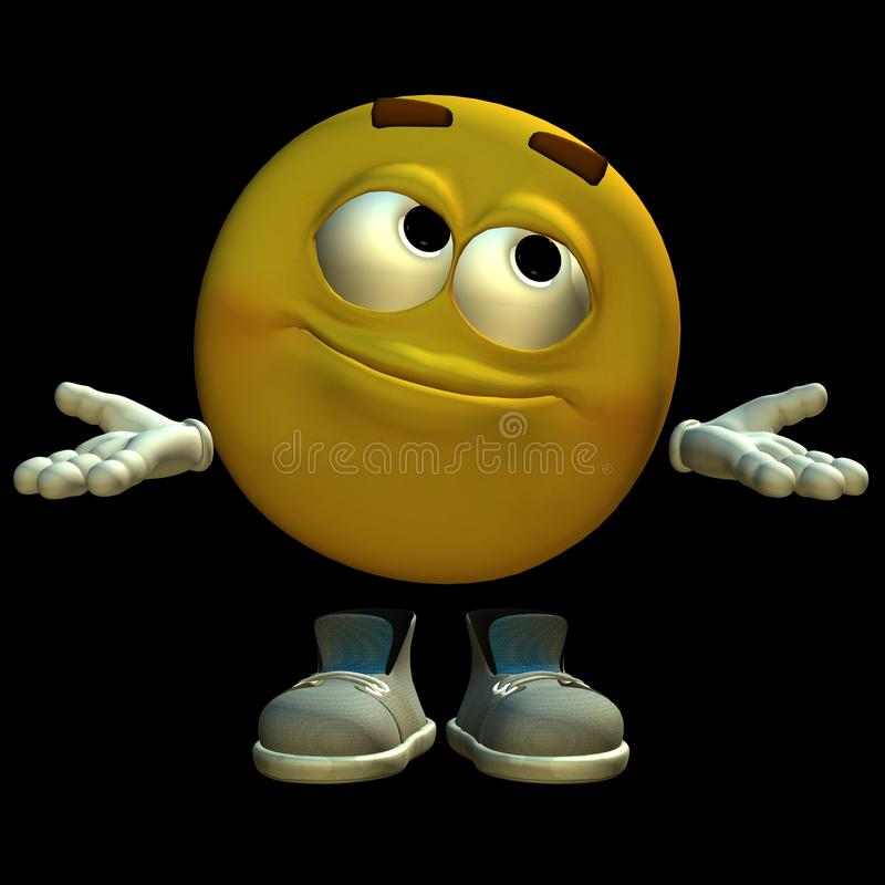 Download 3D emoticon stock illustration. Image of icons, icon - 12979428