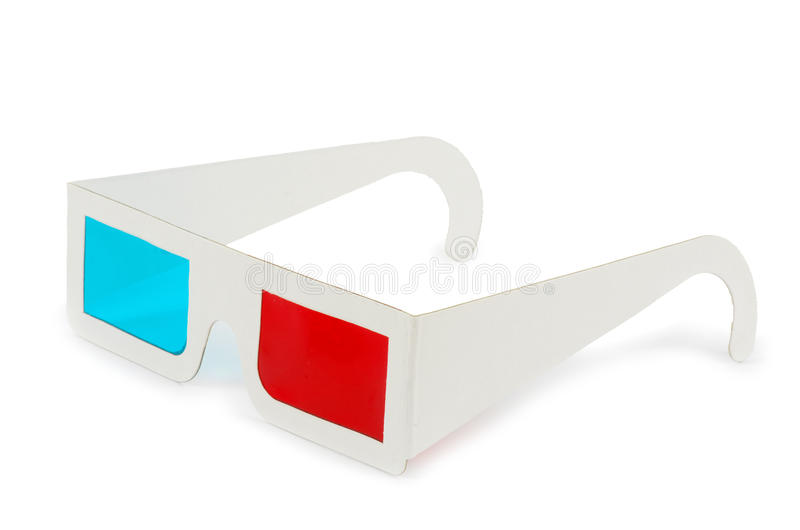 Download 3d eyeglasses stock photo. Image of film, blue, white - 21658520