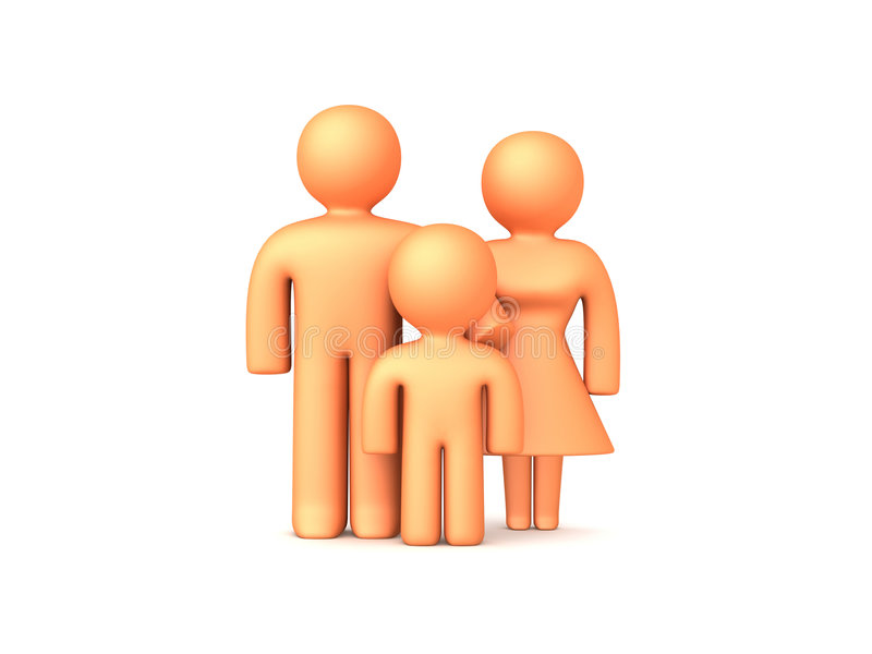 Download 3D Family 1 Stock Images - Image: 305374