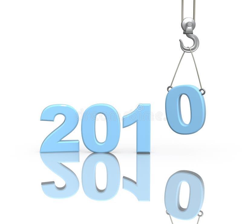 Download 3d Figures 2010 Of Blue Color Stock Illustration - Image: 11079153