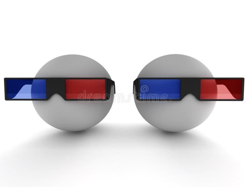 3D Film vector illustratie