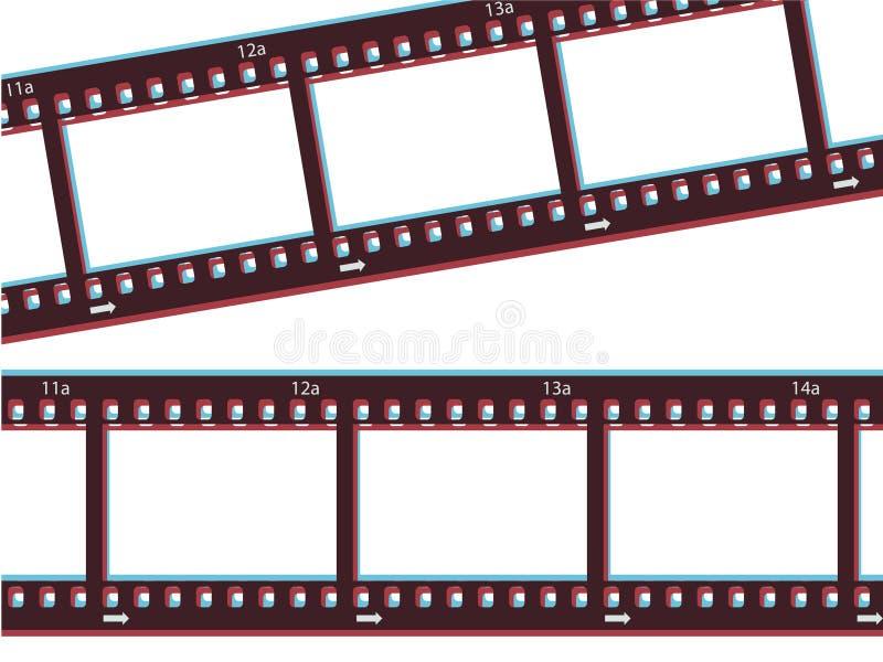 Download 3d Film Strip stock vector. Illustration of media, abstract - 13510425